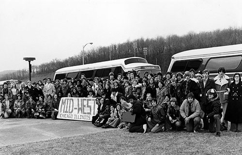 the East Allegheny band's 1976 departure