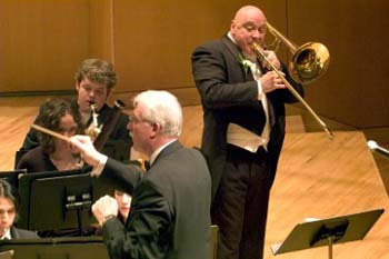 Charles Vernon, Trombone Soloist, Chicago Symphony Orchestra